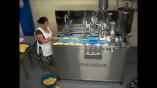 maquina de hacer empanadas arepas pataconesautomatica y semiautomatica