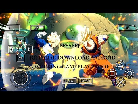 How To Download Dragon Ball Z Fighter Z For Android [PPSSPP]