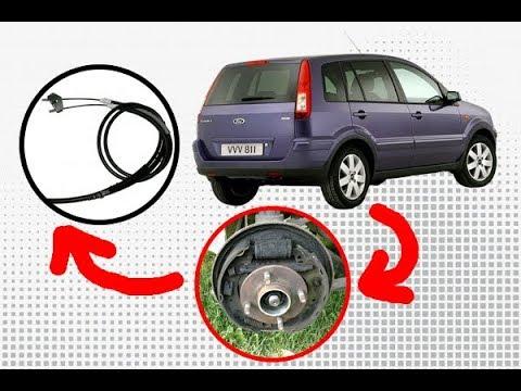 Замена тросика тормоза (ручника, ручного тормоза), форд фьюжн. Ford Fusion