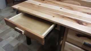 Amish Rustic Student Desk (id: 48297)