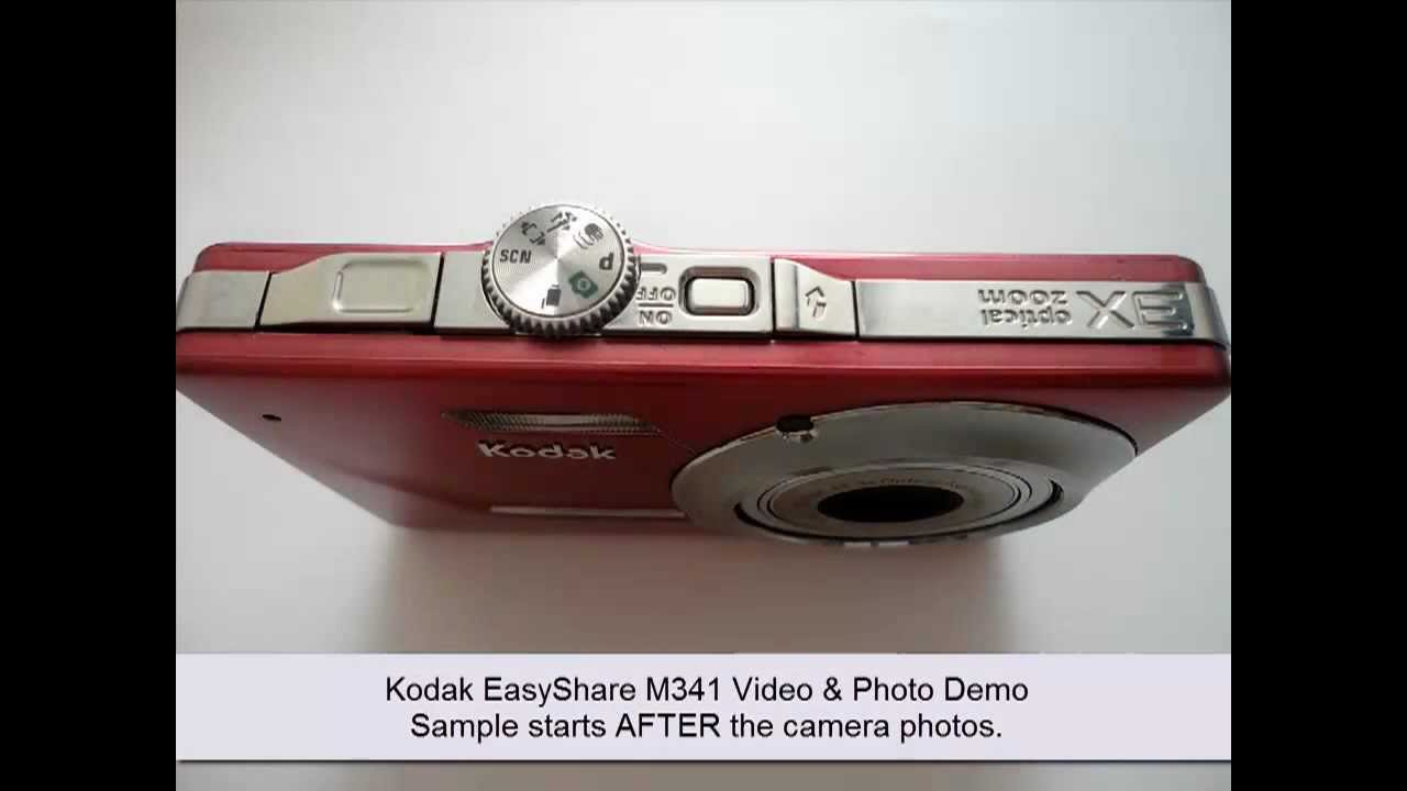Kodak Easyshare M Mp Digital Camera Video Photo Demos Youtube