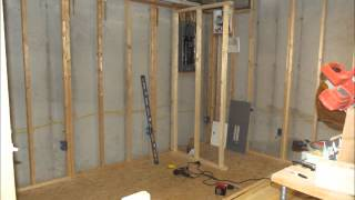 Building the Basement Closet Part 1
