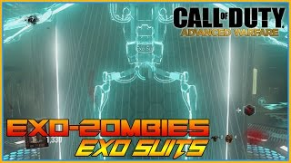 Call Of Duty - Exo Zombies, How to get Exo Suit, Ultimate Zombie Train, ROUND 1-15 Part 3