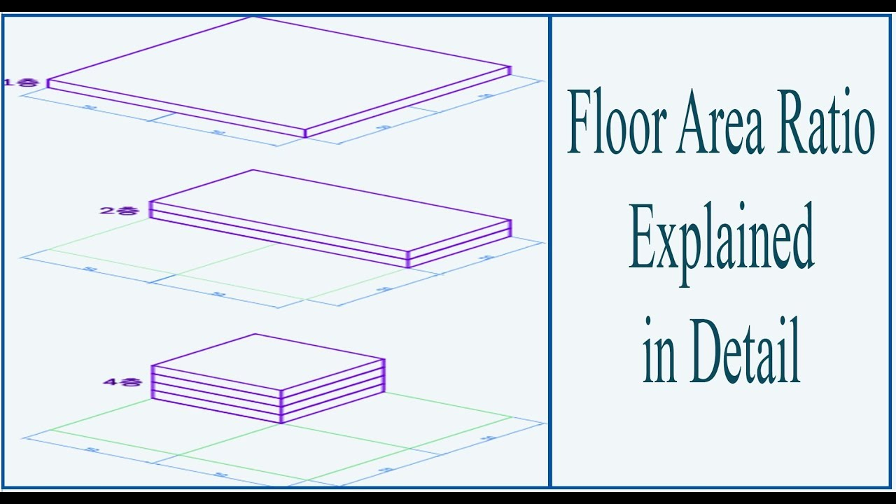Floor Area Ratio Explained | - YouTube