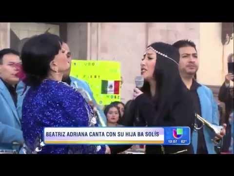 Beatriz Adriana y BA Solis Señora señora en ¡Despierta América!