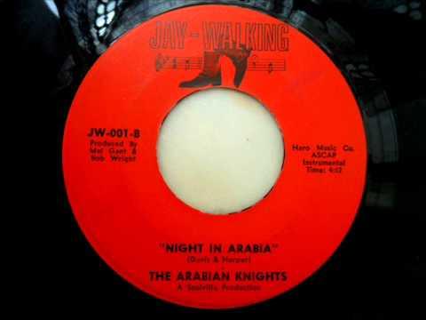 The arabian knights -  Night in arabia