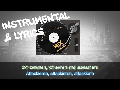 Bonez MC & RAF Camora feat. Hanybal - Attackieren INSTRUMENTAL + LYRICS (KARAOKE BEAT REMAKE)