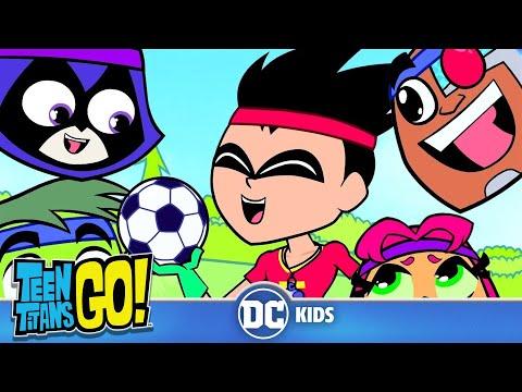 Teen Titans Go! En Español | Práctica de Fútbol | DC Kids