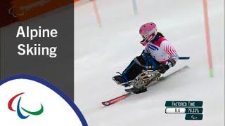 Women's Slalom Run 1 |Alpine Skiing | PyeongChang2018 Paralympic Winter Games