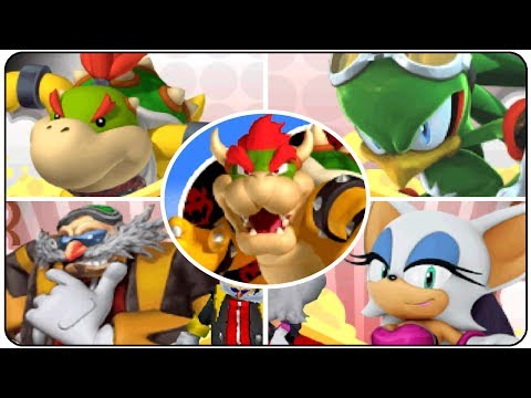 Mario & Sonic at the Olympic Winter Games (DS) - All Bosses