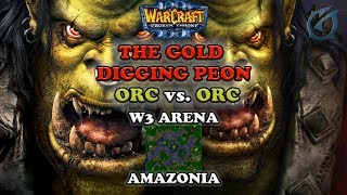 Grubby | Warcraft 3 The Frozen Throne | Orc V Orc - The Gold Digging Peon - Amaz