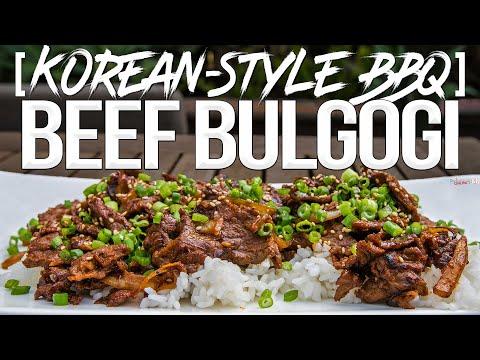 Korean Style BBQ Beef Bulgogi Recipe | SAM THE COOKING GUY 4K