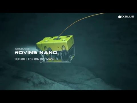 ROVINS NANO - inertial navigation system for ROV navigation