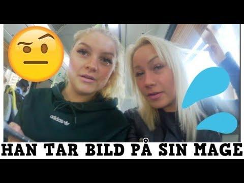 HAN SKICKAR BILDER PÅ SIN MAGE - Vlogg