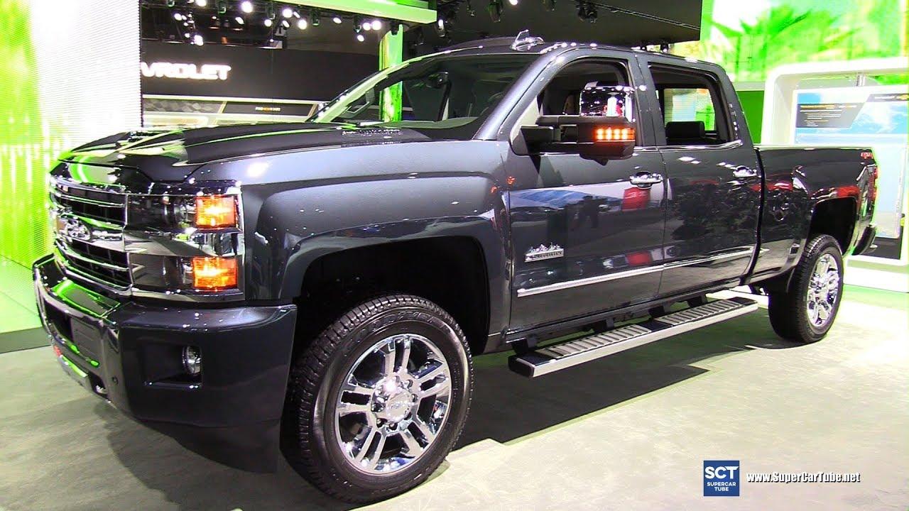 2018 Chevrolet Silverado High Country - Exterior and ...