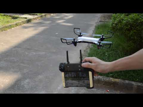 SG700 RC Quadcopter  Hovering Opticial Follow function Test