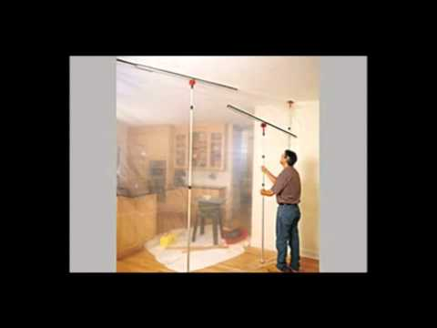 Zipwall 4pl Dust Barrier Temporary Wall System 4 Pack Plus