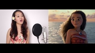 Repeat youtube video How Far I'll Go (Movie Version) - Disney's MOANA - Grace Lee Cover