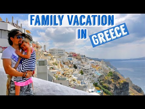 Greece Family Vacation 2015 - Athens, Santorini, Mykonos