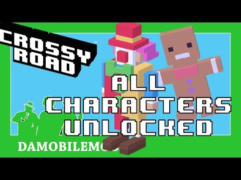 ★ CROSSY ROAD All Secret Characters Unlocked | Halloween 2017 Update + ATTENTION ANDROID USERS!