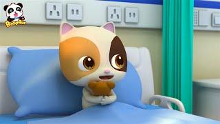 Cuidar a Mimi en Hospital | Canción Infantil | Oficios y Profesiones Para Niños | BabyBus Español