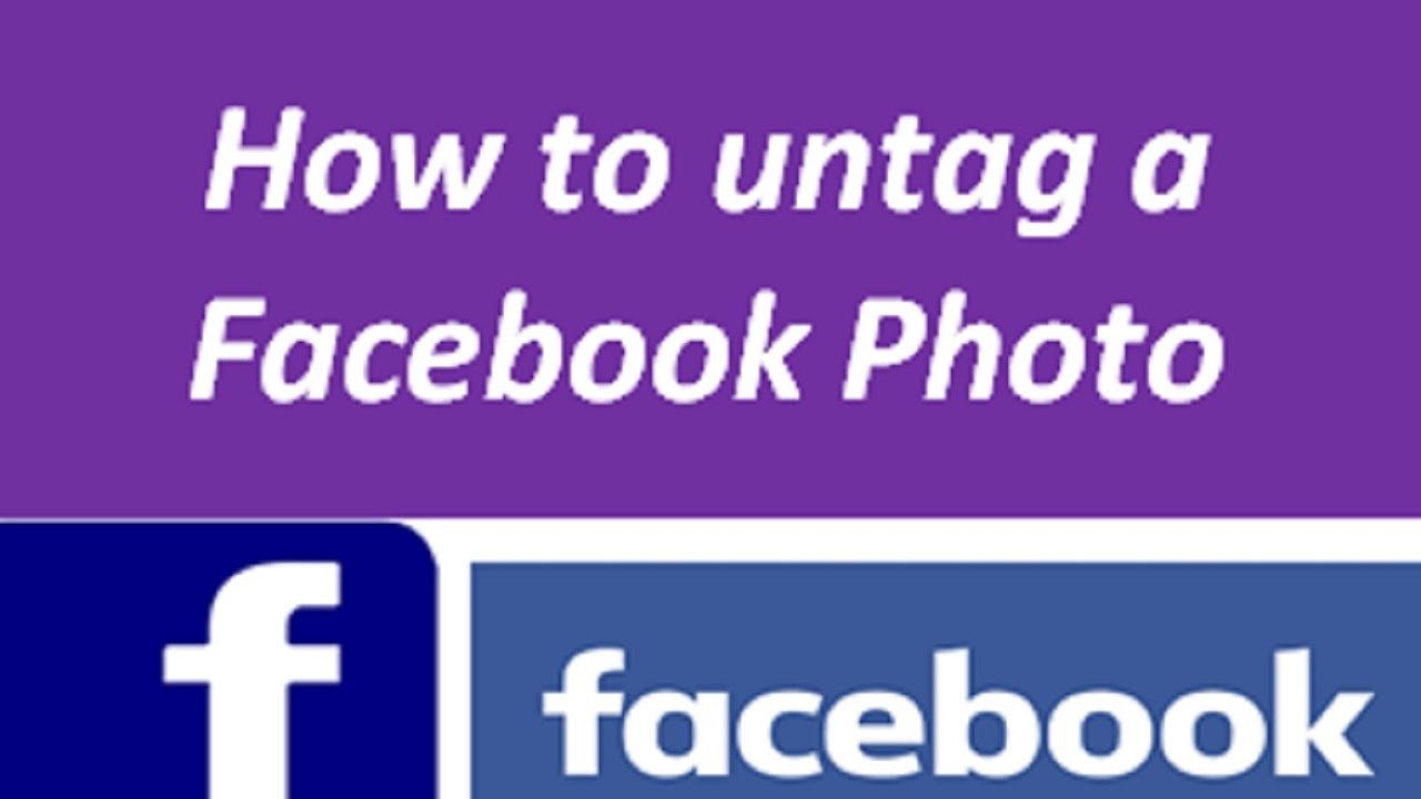 How to untag yourself on Facebook (and why)