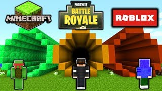 DON'T CHOOSE THE WRONG TUNNEL! (MINECRAFT, FORTNITE, ROBLOX)