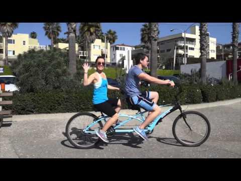 General Hospital stars Kristen Alderson and Chad Duell at Santa Monica Beach