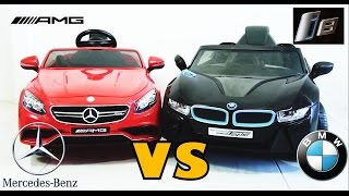 Mercedes Benz S63 AMG Coupe  VS  BMW i8 GT Spyder - Who Wins?