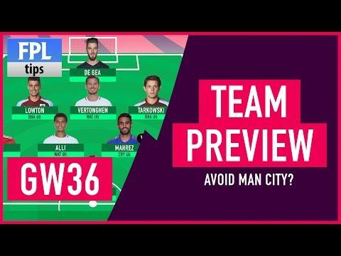 GAMEWEEK 36: TEAM SELECTION | Trust Kane over Man City Players? | Fantasy Premier League 2017/18