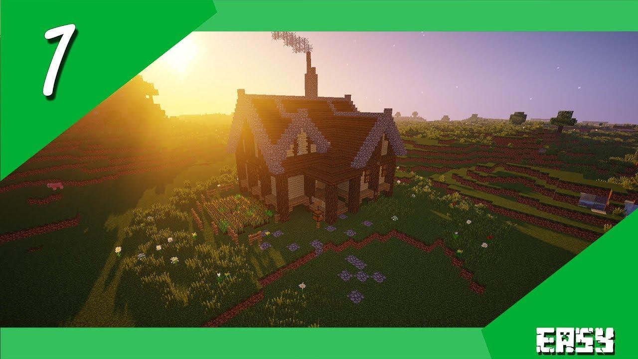 Minecraft  Tutorials  Easy  Plains biome house  10