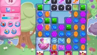 Candy Crush Saga Level 4493 NO BOOSTERS