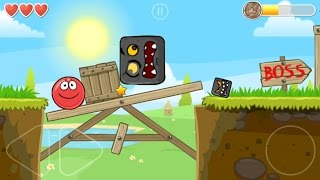 Classic Red Ball 4 played with a red ball; Volume 1 all levels + BOSS
