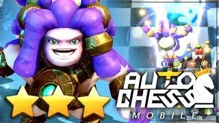 ⭐️⭐️⭐️ Tsunami Stalker (3-Star Legendary!) | Claytano Auto Chess Mobile 195