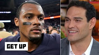 Deshaun Watson won't make any noise in the playoffs with the Texans - Mark Sanchez | Get Up