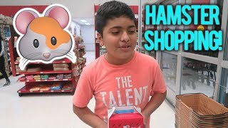 Getting A Hamster For My Brother!!  (PETCO SHOPPING SPREE!)