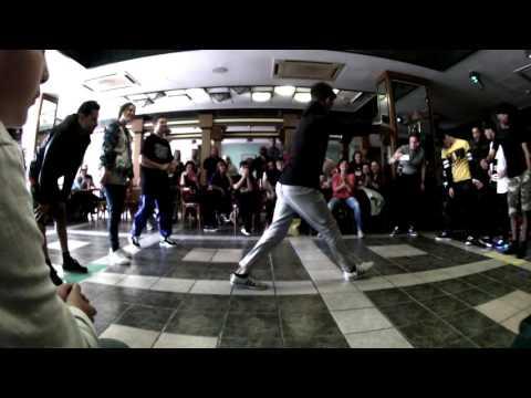Street Elements/Underground SHadowz vs A-Team @ Hell`s Energy Drink Street Dance Battle 2016