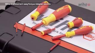 WIHA 41342 EasyTorque électrique Torque Adaptateur pour slimBits et slimVario Holder