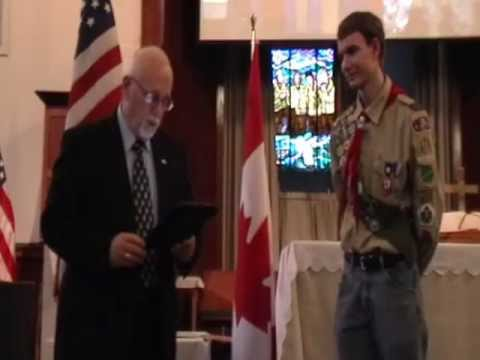 Josiah Eagle Scout Court of Honor Video.MOD