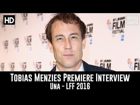 Tobias Menzies LFF Premiere Interview - Una