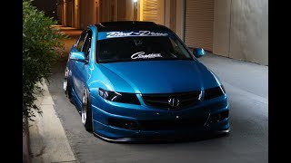 Wrapping a Bagged Tsx in 3M ATOMIC TEAL!!