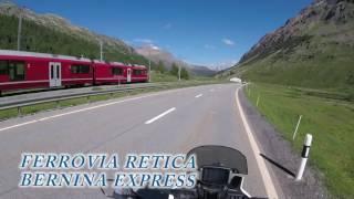 passo del Bernina in moto - Berninapass mit dem motorrad