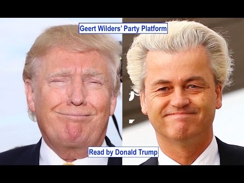 Thumbnail: Donald Trump Reacts to... Dutch Elections & Geert Wilders | GSUSE