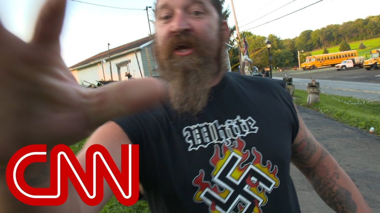 Neo-Nazi says he's emboldened by Trump