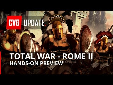 Rome II Total War Preview - Brand new Gameplay |