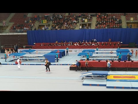 2017 FIG Trampoline World Age Group Competitions day 2 part 1