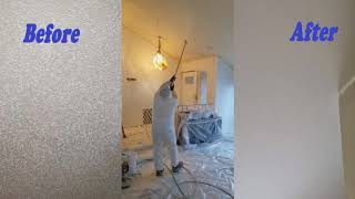 Transform Your Popcorn Ceiling into Smooth Ceiling
