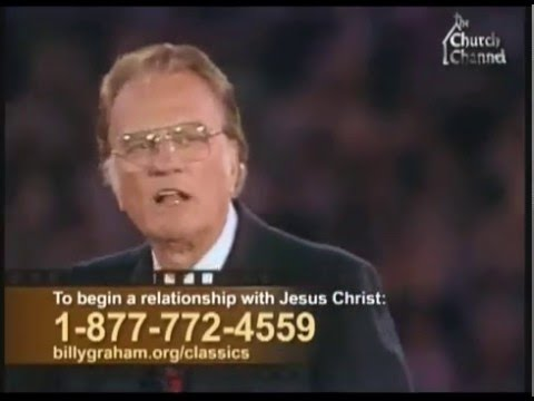 Billy Graham - Sex, power and materialism