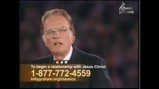 Sex, power and materialism - Billy Graham
