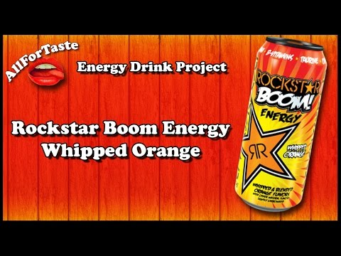 Energy Drink Project - Rockstar Orange Whipped